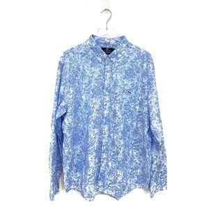 Vineyard Vines Men's Tropical Long Sleeve Shirt